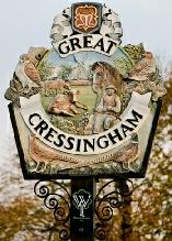 Welcome to the Norfolk village of Great Cressingham