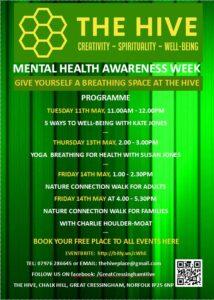 Poster for Mental Health Awareness Week (2)