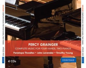 Percy Grainger Complete Works for 4 Hands 2 Pianos