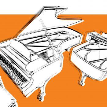 Piano40 - 8 hands at 2 pianos