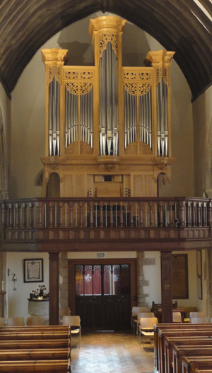 woolley-Odiham organ
