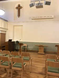 Swaffham Methodist Church new sanctuary