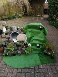 Easter Garden from And