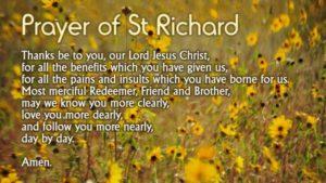 The Prayer of St. Richard