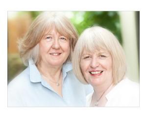 Sarah Rodgers and Geraldine Allen