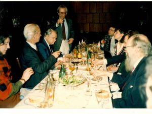 A toast at a feast with Khrennikov